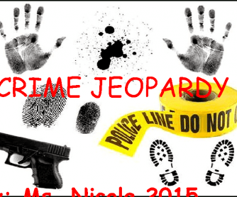 Crime Jeopardy