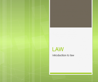 Law- So You Study Law