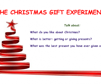 Movie Worksheet:The Christmas Gift Experiment