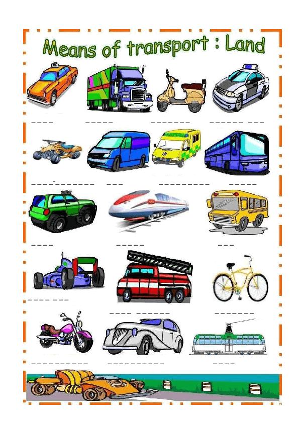 transport and communication model