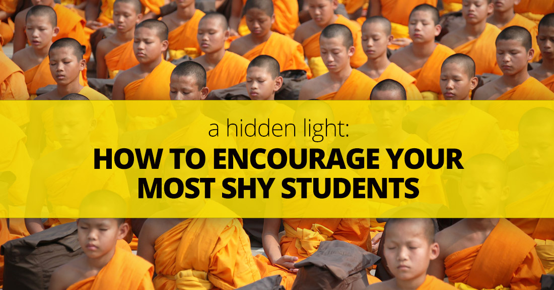 A Hidden Light: How to Encourage Your Most Shy Students
