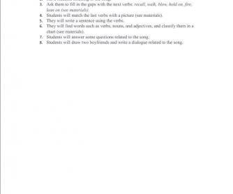 Song Worksheet: Lean On