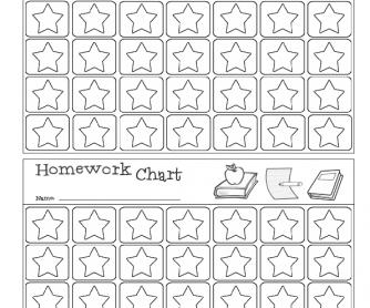 Homework Reward Chart