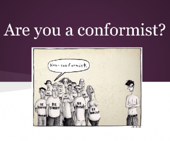 Are You a Conformist?
