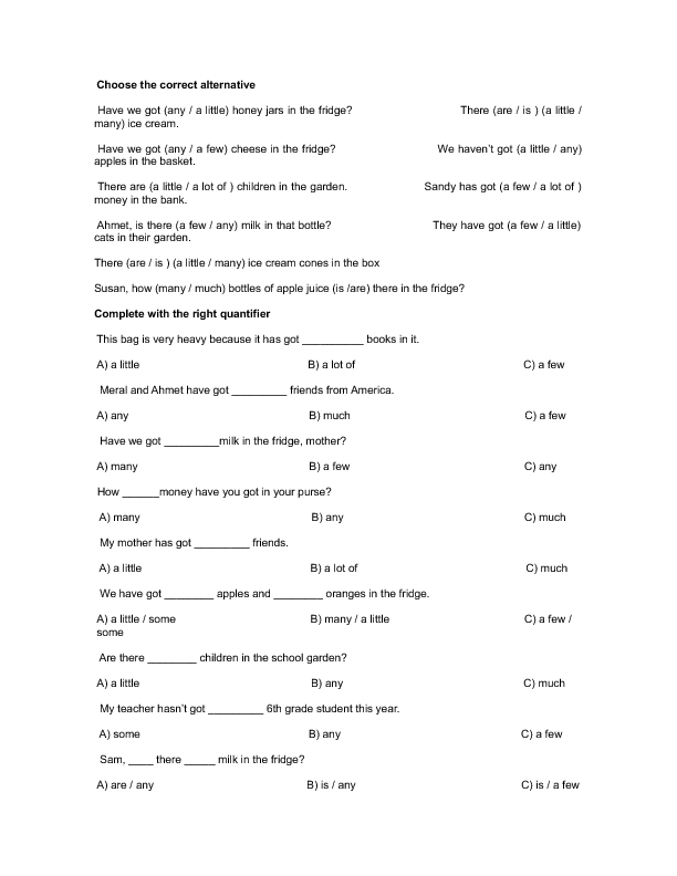 229 FREE Countable/Uncountable Nouns Worksheets: Teach Countable and ...