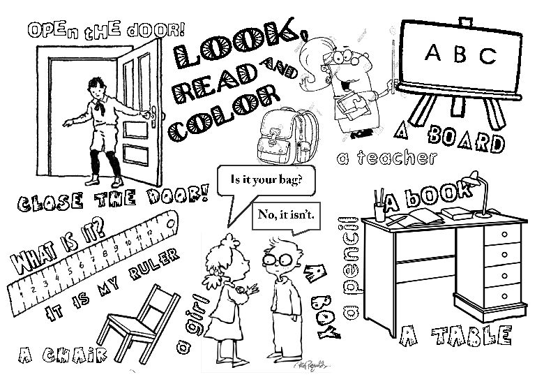 Esl Numbers Coloring Pages.  172 FREE Coloring Pages For Kids