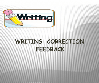 B2 Level Writing Correction Feedback