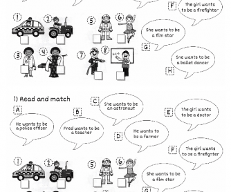 Jobs. Present Simple Questions Practice