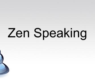 Zen Speaking
