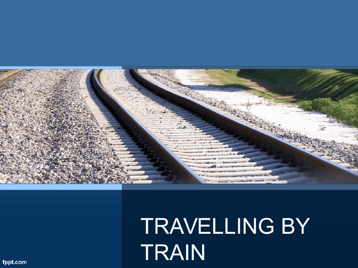 essay about travelling by train