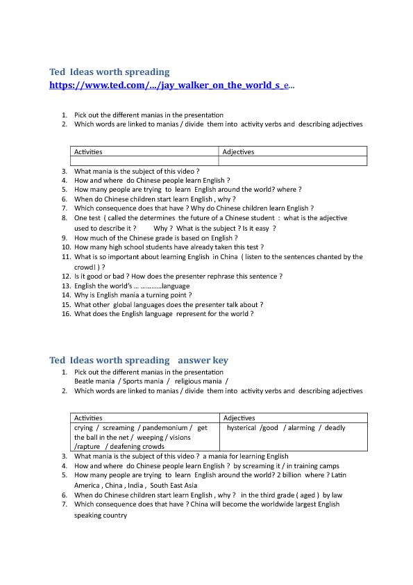 190 FREE School/University/Education Worksheets