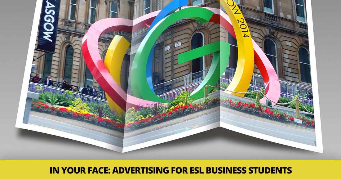 In Your Face: 6 Simple Tips for Teaching Advertising [ESL Business Students]
