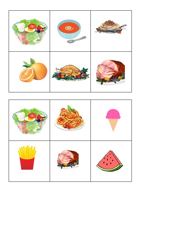Bingo - Food