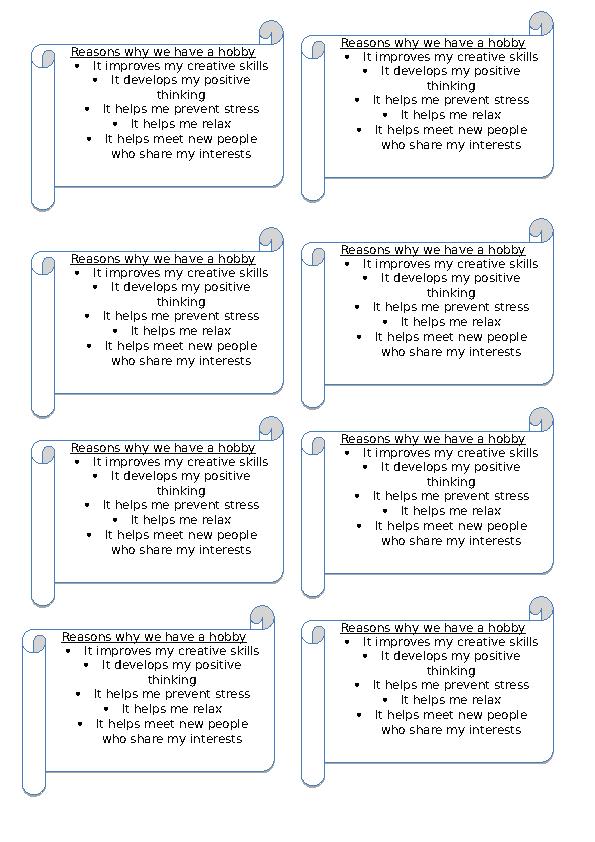 Thinking as a hobby essay