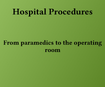 Hospital Procedures Vocabulary