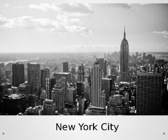 New York, New York - ESL Presentation