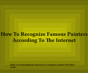 How to Recognize Real Art and Real Artists