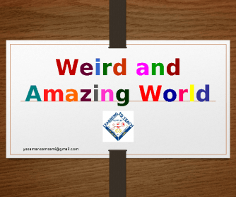Weird and Amazing World