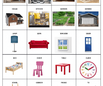 All Worksheets Parts Of The House Worksheets Printable