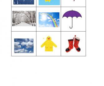 Bingo - Weather