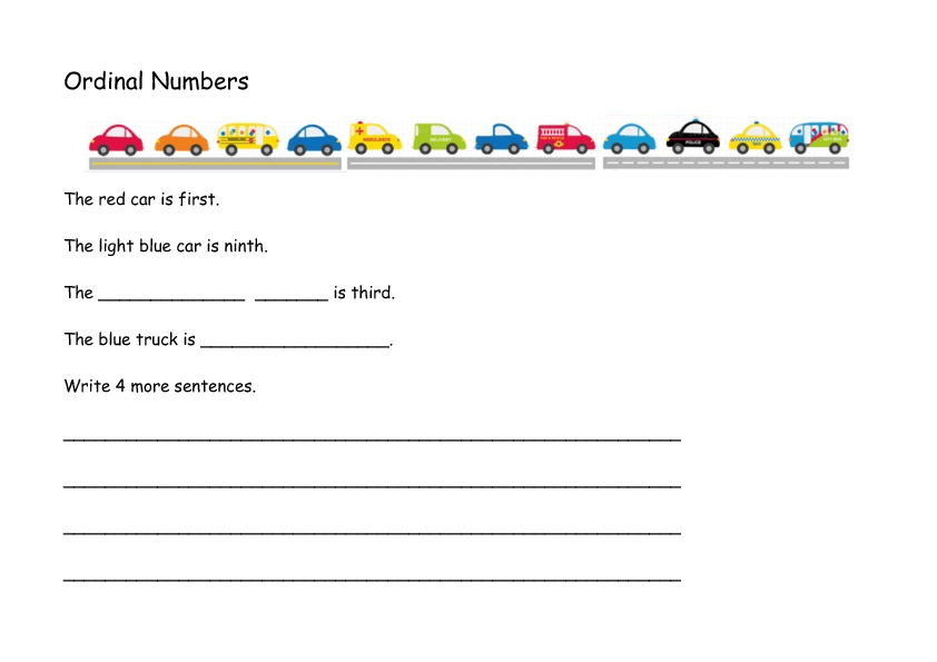 140 FREE Transport Worksheets