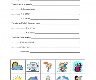 Printables Weather Worksheets 242 free weather worksheets and seasons