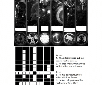 ESL Avengers Crossword