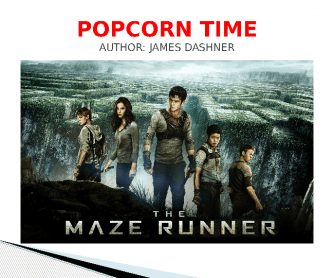 Movie Worksheet: Maze Runner, Quiz