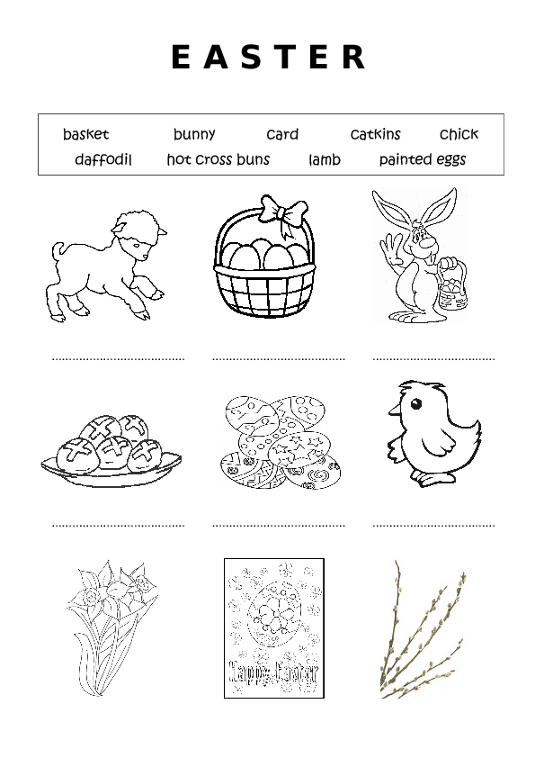 70 FREE Easter Worksheets, Printables, Coloring Pages & Lesson Ideas