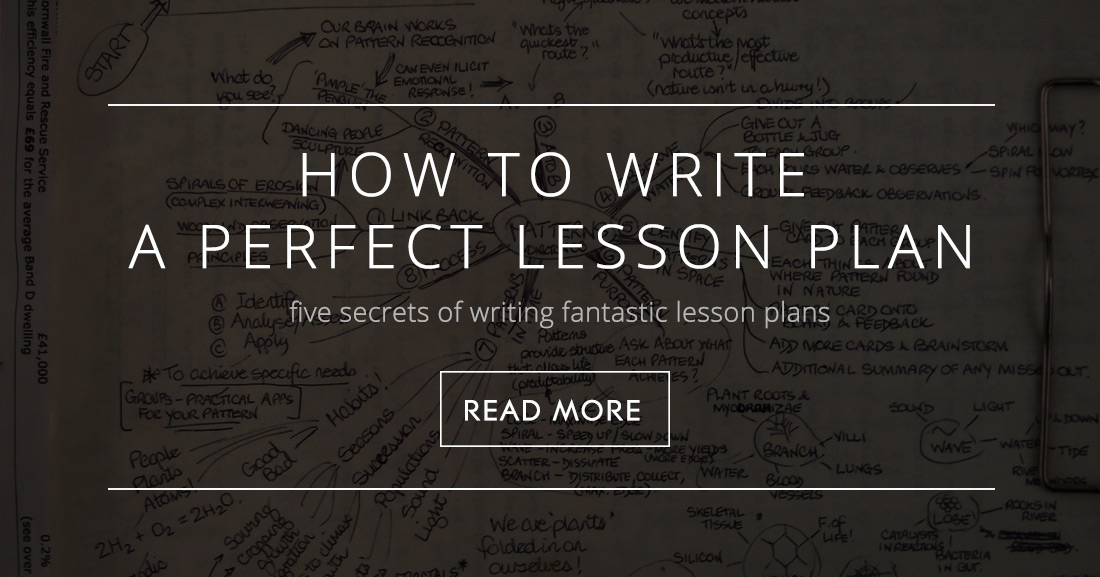 To Write A Lesson Plan  Secrets Of Writing Fantastic Lesson Plans