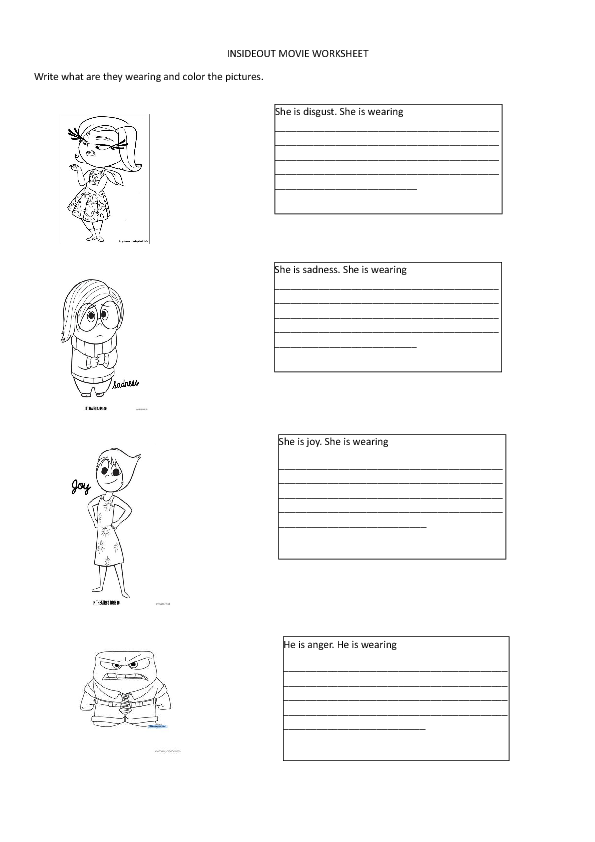 Movie Worksheets For Students : Free fashion and style worksheets