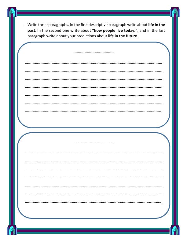 728 FREE Writing Worksheets – Writing a Paragraph Worksheet