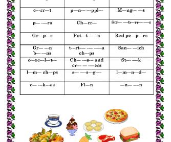 Dictation (Food)