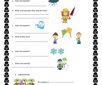 Printables Weather Worksheets 242 free weather worksheets hows the weather