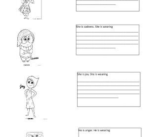 Movie Worksheet: Inside Out
