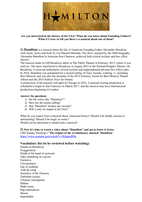 88 FREE CinemaTheatreMuseum Worksheets – Theatre Worksheets