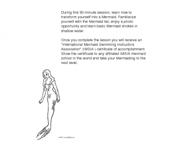 Movie Worksheet: Mermaiding. How to Swim Like a Mermaid