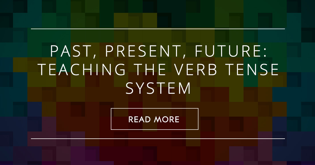 Past present future teaching the verb tense system fandeluxe Images