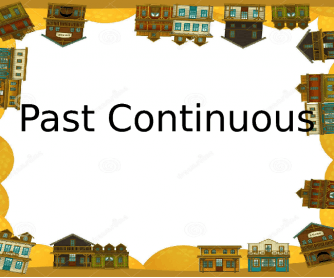 Past Continuous Presentation Powerpoint