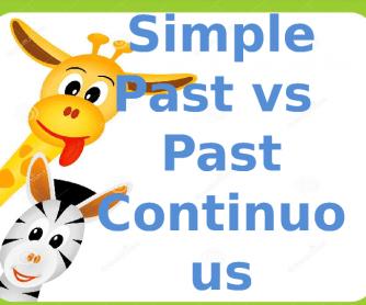 Past Simple vs Past Continuous Powerpoint