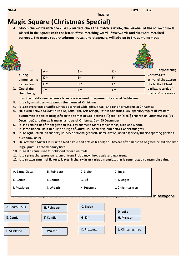 357 FREE Christmas Worksheets Coloring Sheets Printables And Word