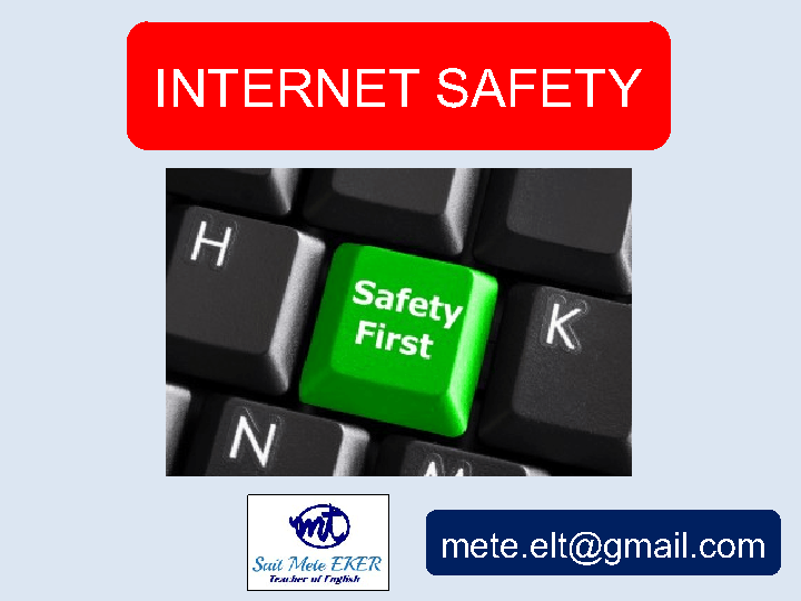 Safety Rules – Internet Safety Worksheets