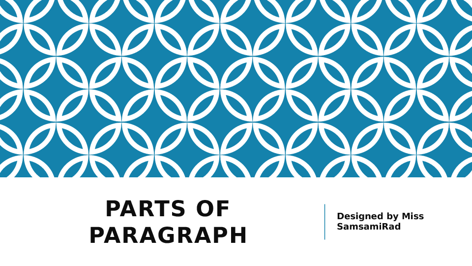 of Paragraph – Parts of a Paragraph Worksheet