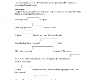 Printables Elementary Grammar Worksheets 11012 free grammar worksheets present perfect simple vs continuous