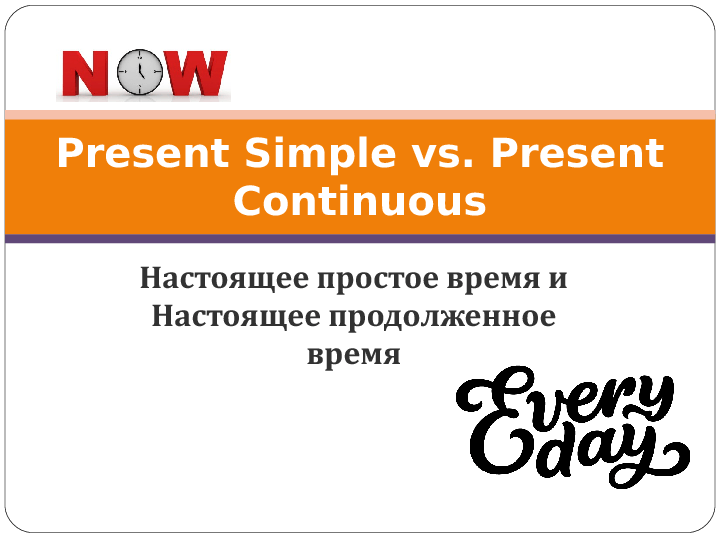 present simple vs present continuous ppt