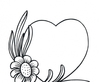 valentines day worksheet colouring page 11 - Picture For Colouring