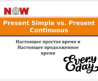 Present Simple vs. Present Continuous PPT