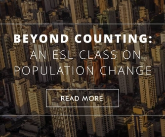Beyond Counting: An ESL Class on Population Change