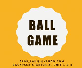 Ball Game (Starter)