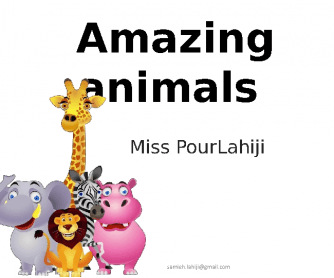 Volcano: Animals
